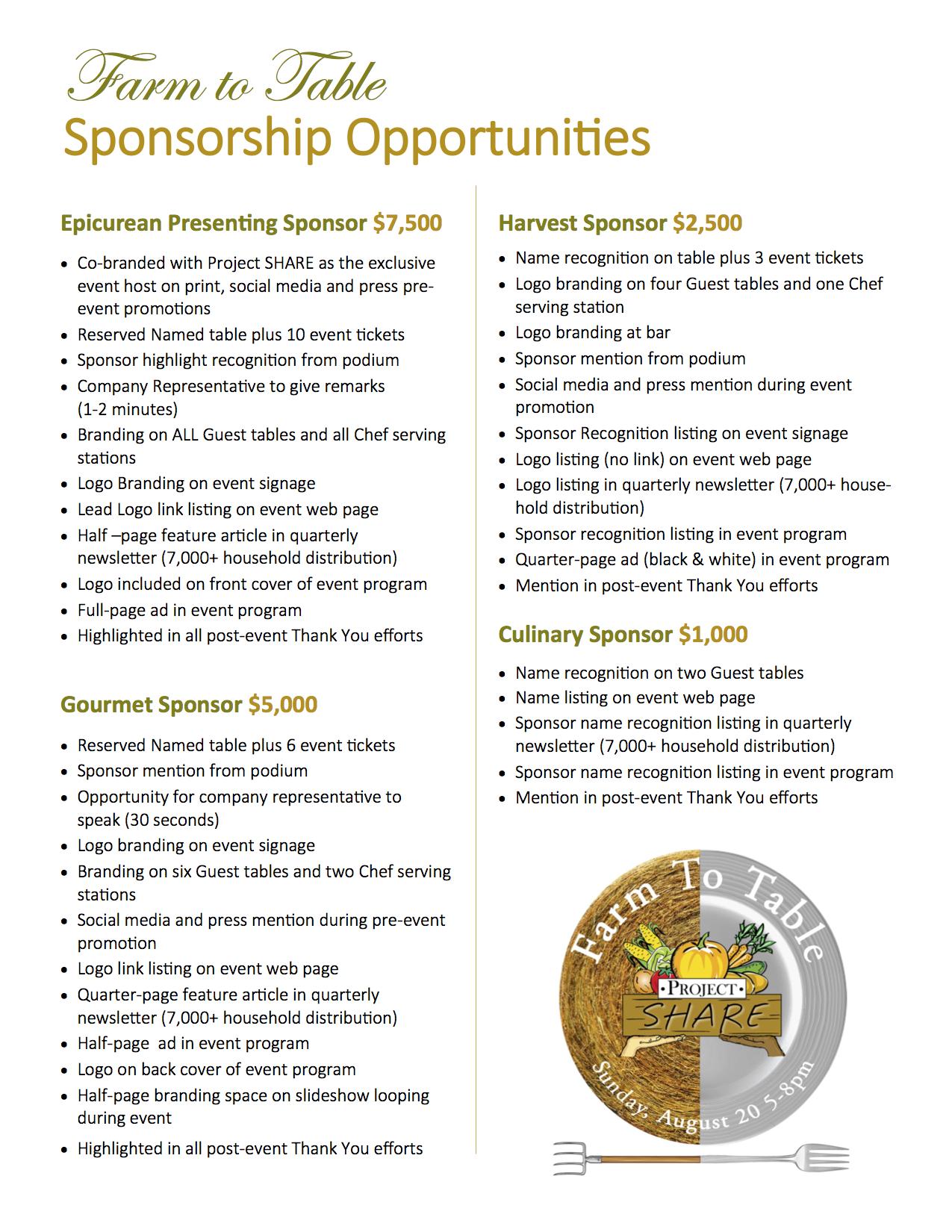 Sponsorship Opportunities (2)